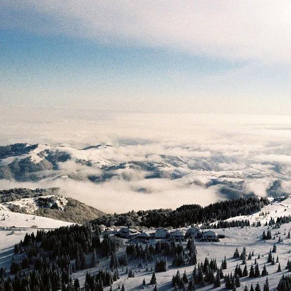 invierno en serbia