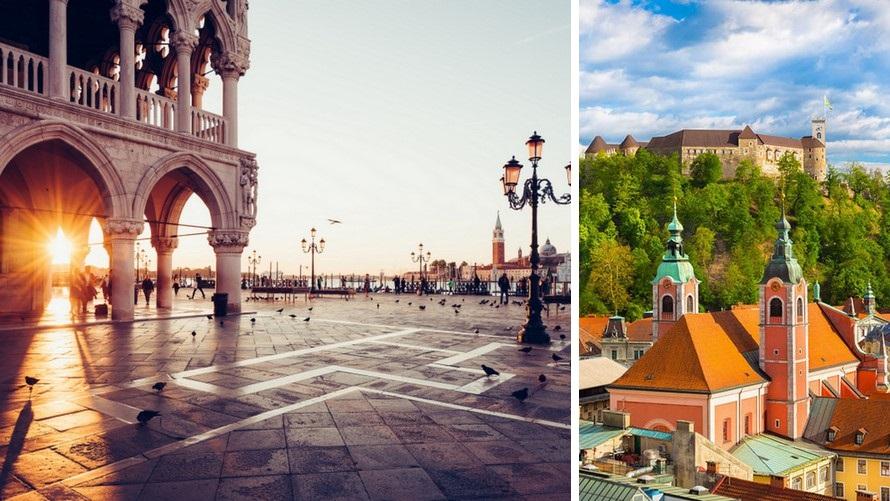 viaje por Europa Central