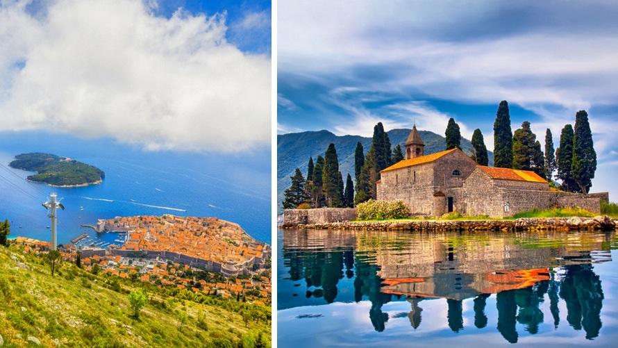 Grand Tour por los Balcanes: Dubrovnik (Croacia) y Perast (Montenegro)