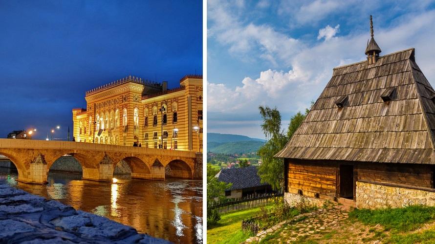 Grand Tour por los Balcanes: Sarajevo (Bosnia) y Sirogojno (Serbia)