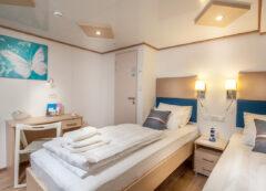 Barco de categoría estándar superior - camarote doble
