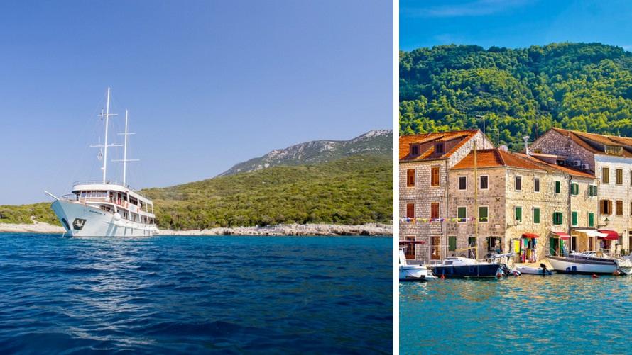 Crucero por Croacia: Islas Dálmatas desde Split