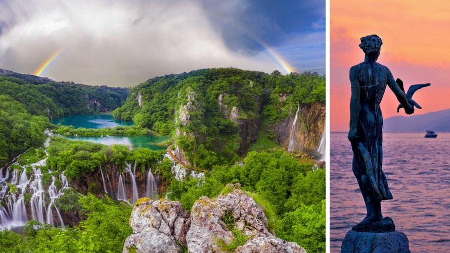 Grand Tour por los Balcanes: Opatija y PN Plitvice (Croacia)