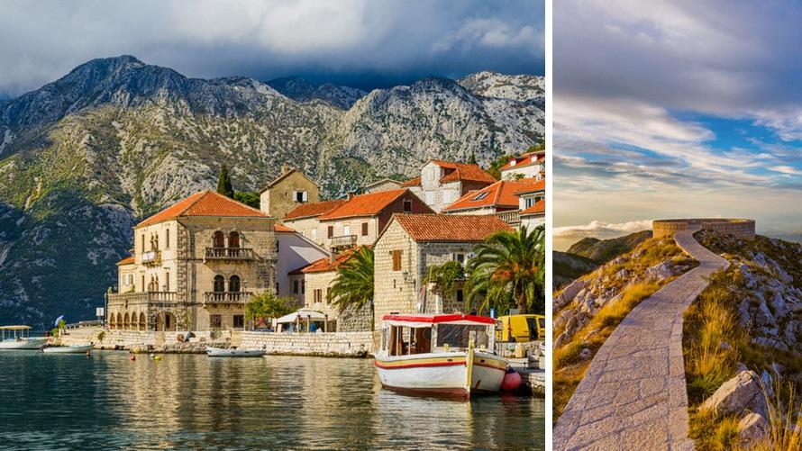 Montenegro: Perast y PN Lovćen
