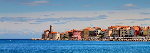 travel to Croatia and Slovenia: Piran