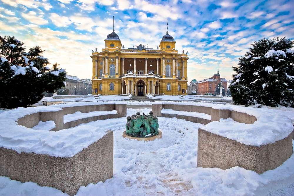 Visita Zagreb en invierno con Ekorna
