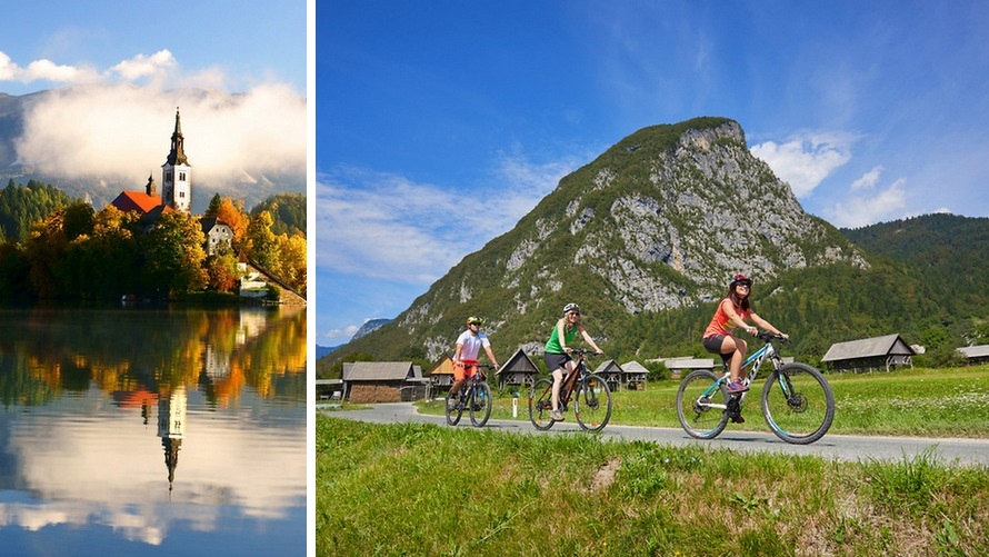Bike Tour in Slovenia - Bled and Bohinj Valley