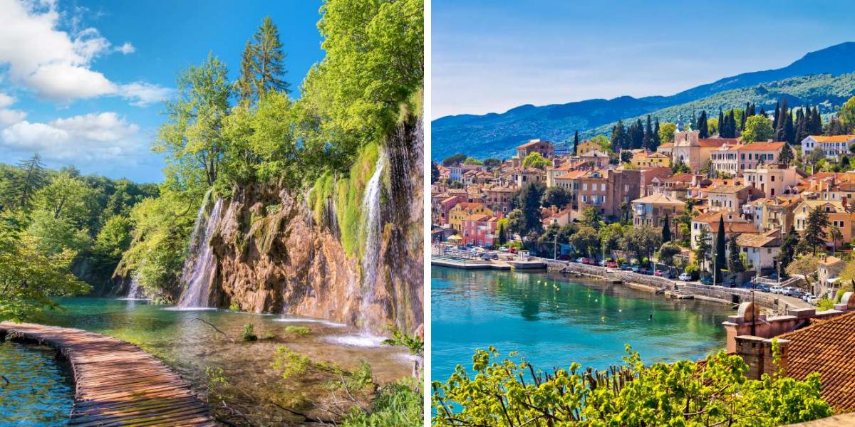 Visita Plitvice y Opatija con agencia local - Ekorna