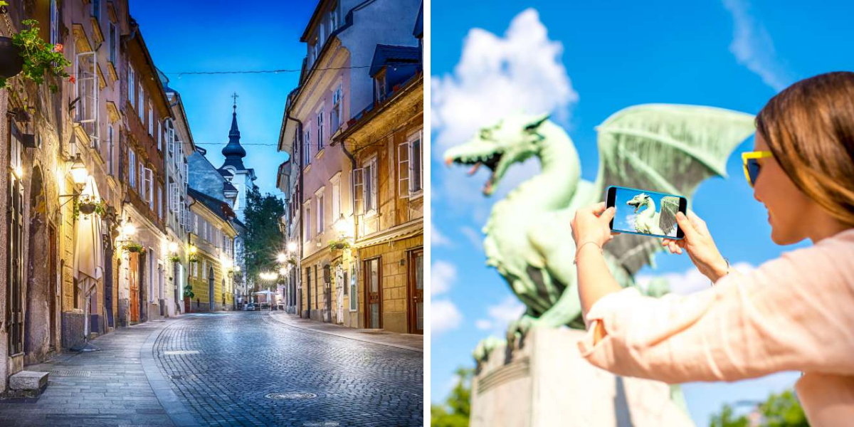 Visita guiada del casco antiguo de Liubliana – Ekorna