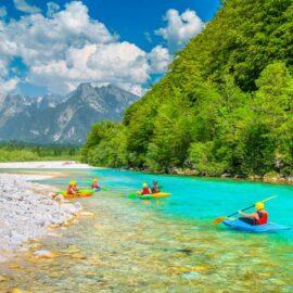 Rafting-río-Soca-Eslovenia