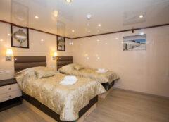Barco de categoría de lujo - camarote doble