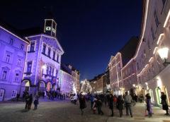 Mercado de Navidad de Liubliana