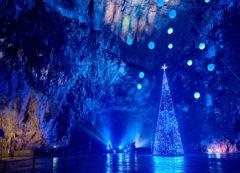 La cueva de Postojna en diciembre
