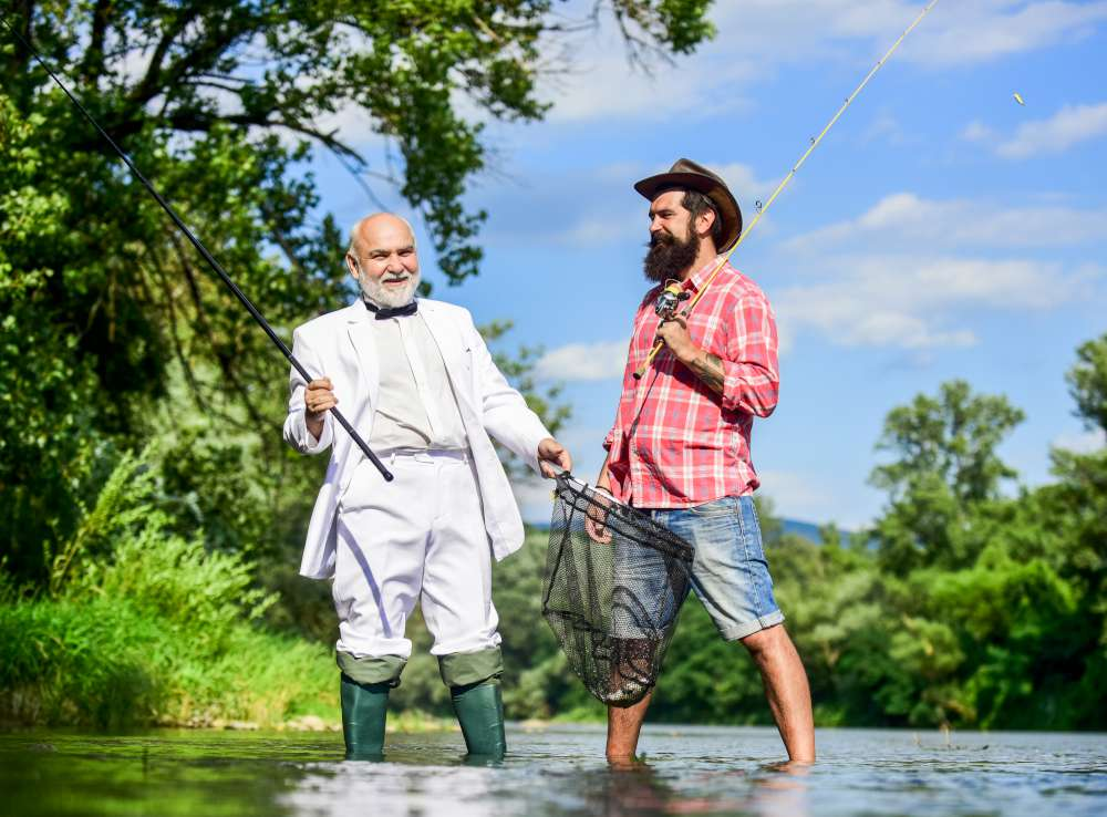 Pescar en Rovinj Croacia