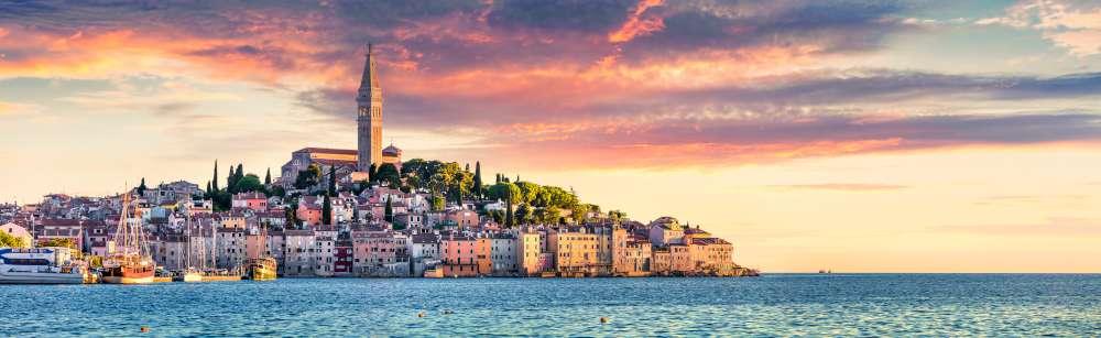 Rovinj Croacia con Ekorna