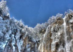 Parque Nacional de Plitvice en invierno