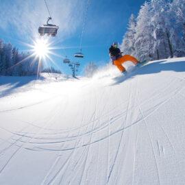 Esquiar en Eslovenia; foto: Aljaž Sedovšek; vir: www.slovenia.info