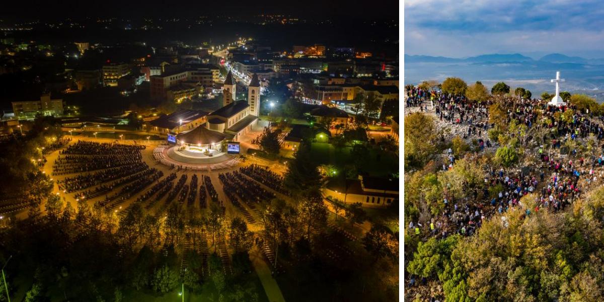 Festival de los Jóvenes Medjugorje, Colina de las Apariciones