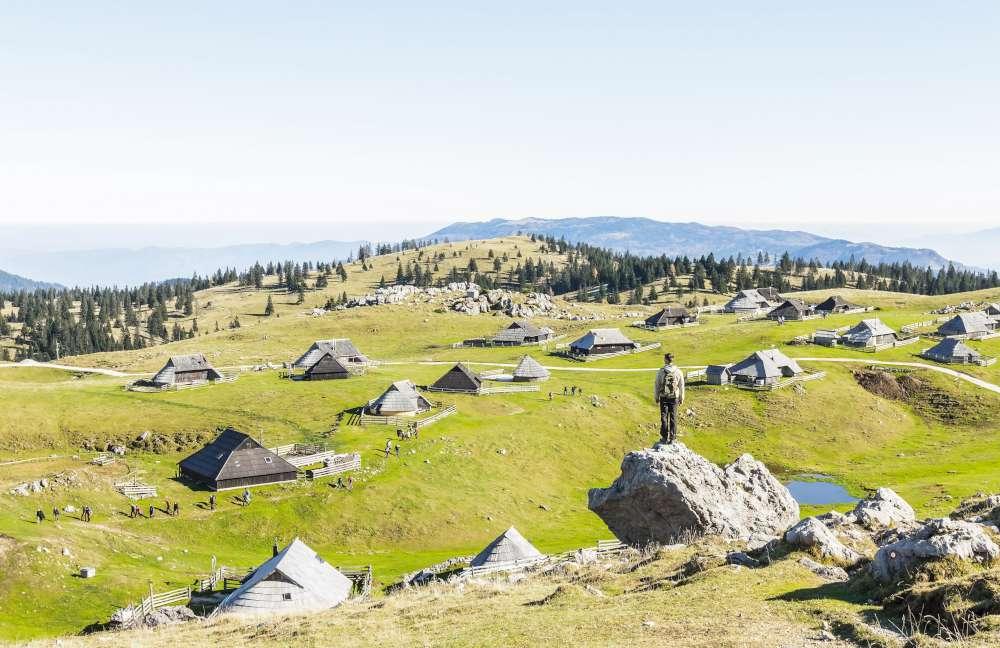 Senderismo en Velika planina-Eslovenia, con Ekorna viajes