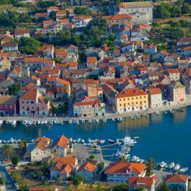 Stari grad en la isla de Hvar