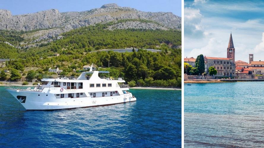 Cruceros costa croata: Orgullo Adriático
