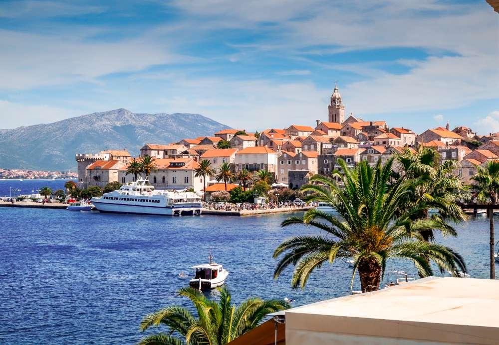 Korcula es una de las más visitadas islas de Croacia