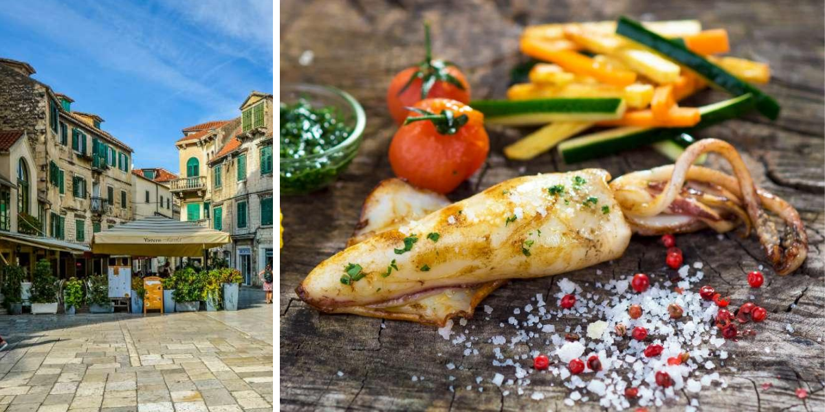 Gastronomía de Split