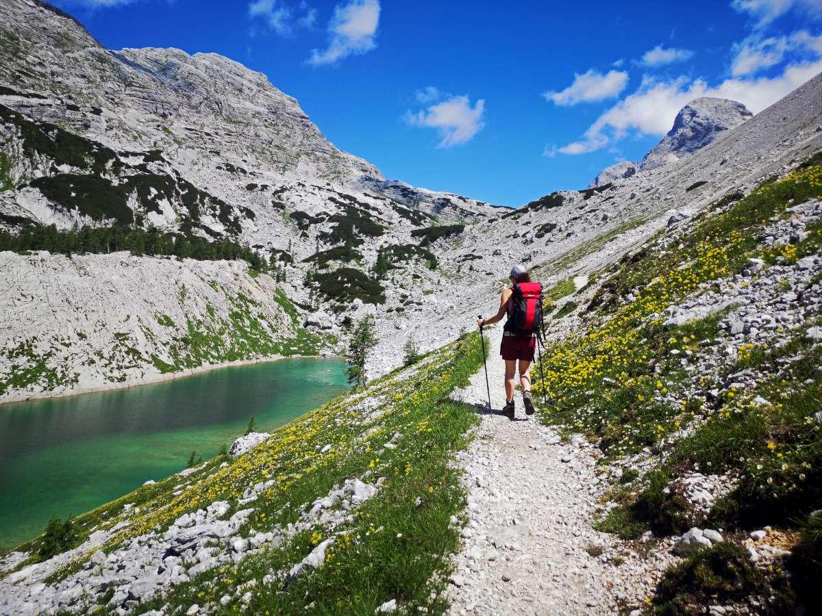 La ruta de los 7 lagos en el PN Triglav