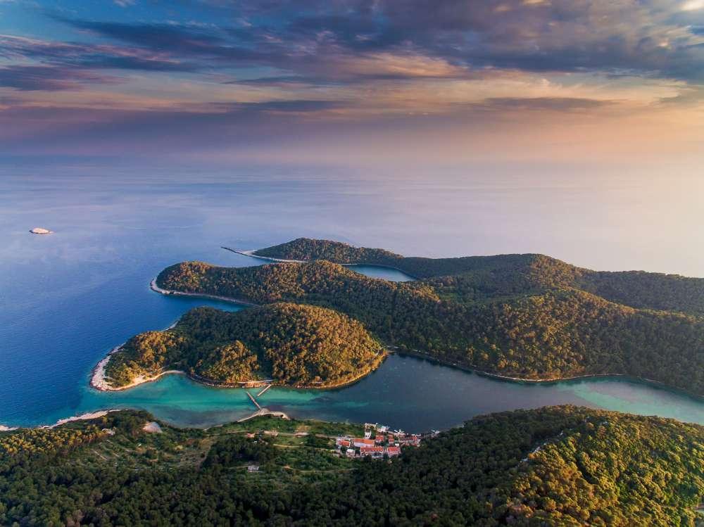 Visita la isla de Mljet con Ekorna