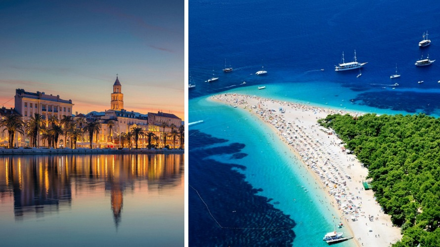 cruise from Split to Dubrovnik - Split and Bol