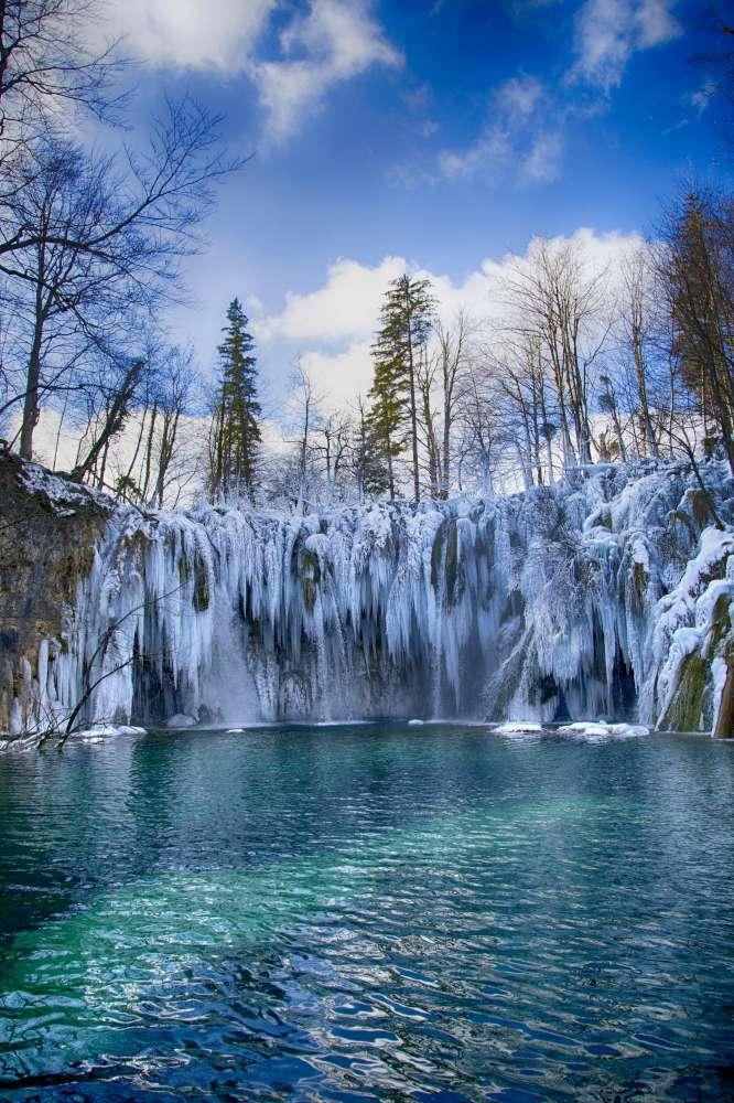 Plitvice en invierno