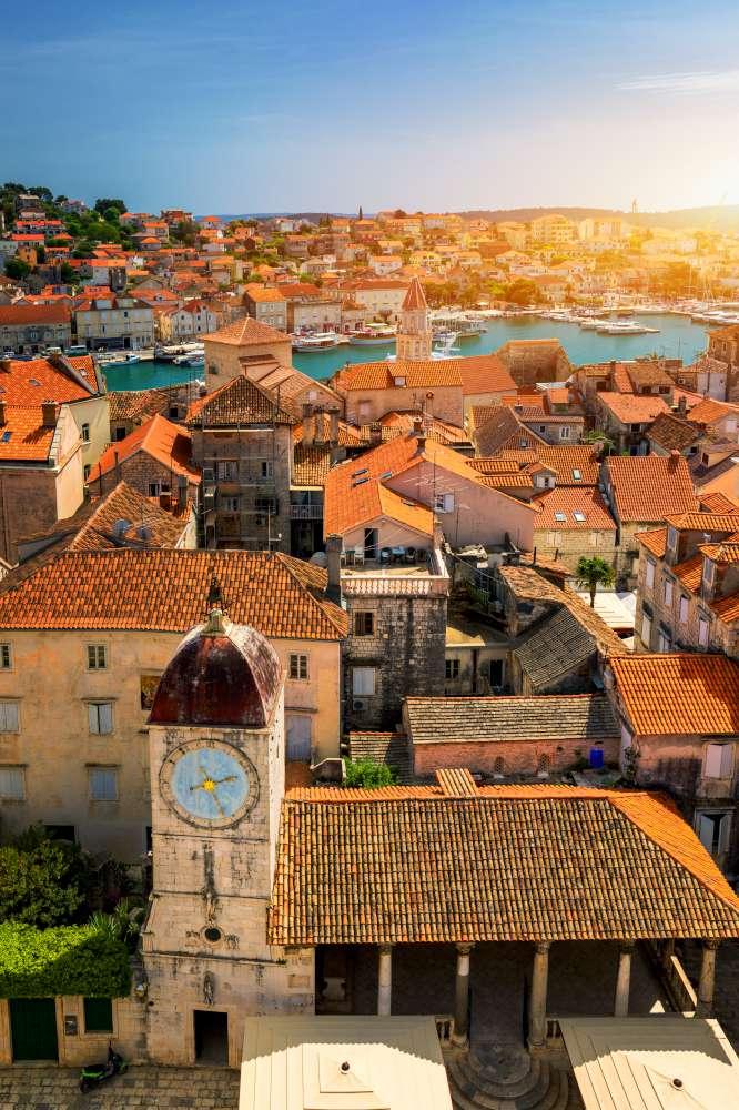 Trogir - clima en Croacia