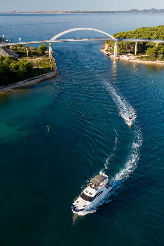 Las islas dálmatas y el clima en Croacia