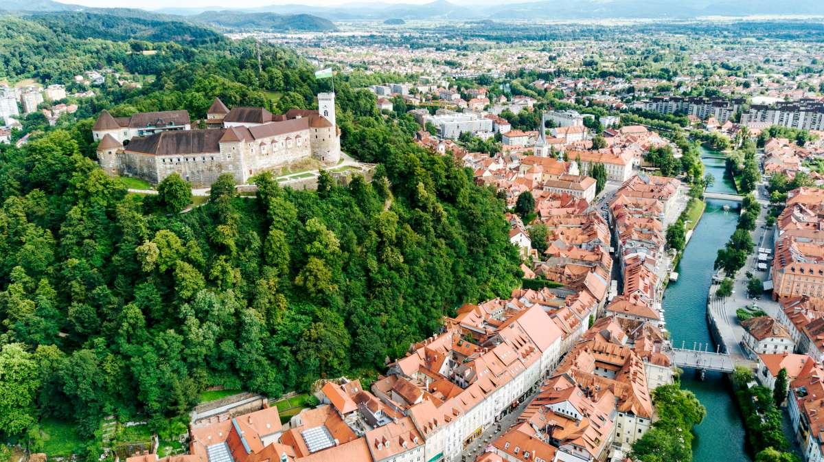 castillos de Eslovenia - en Liubliana