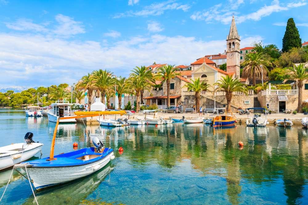 isla de Brac en Croacia-cruceros con Ekorna