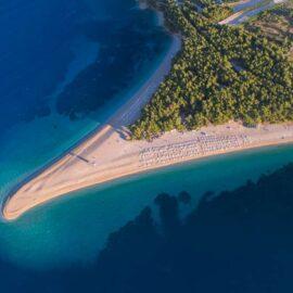 Playas en la isla de Brač