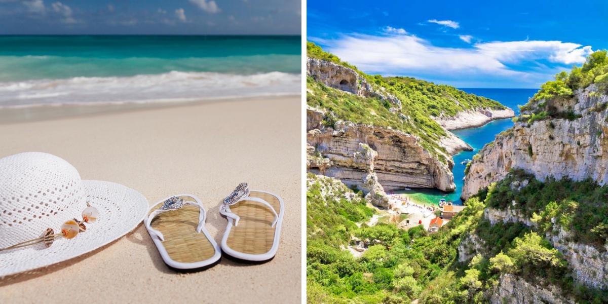 Playa Stiniva en Croacia- Ekorna