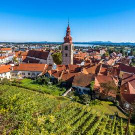 Ptuj, la ciudad más antigua en Eslovenia