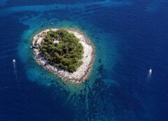 Islas Pakleni cerca de Hvar, Croacia