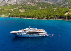 Barco de lujo