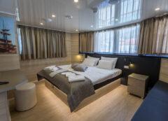 Barco de lujo: camarote VIP