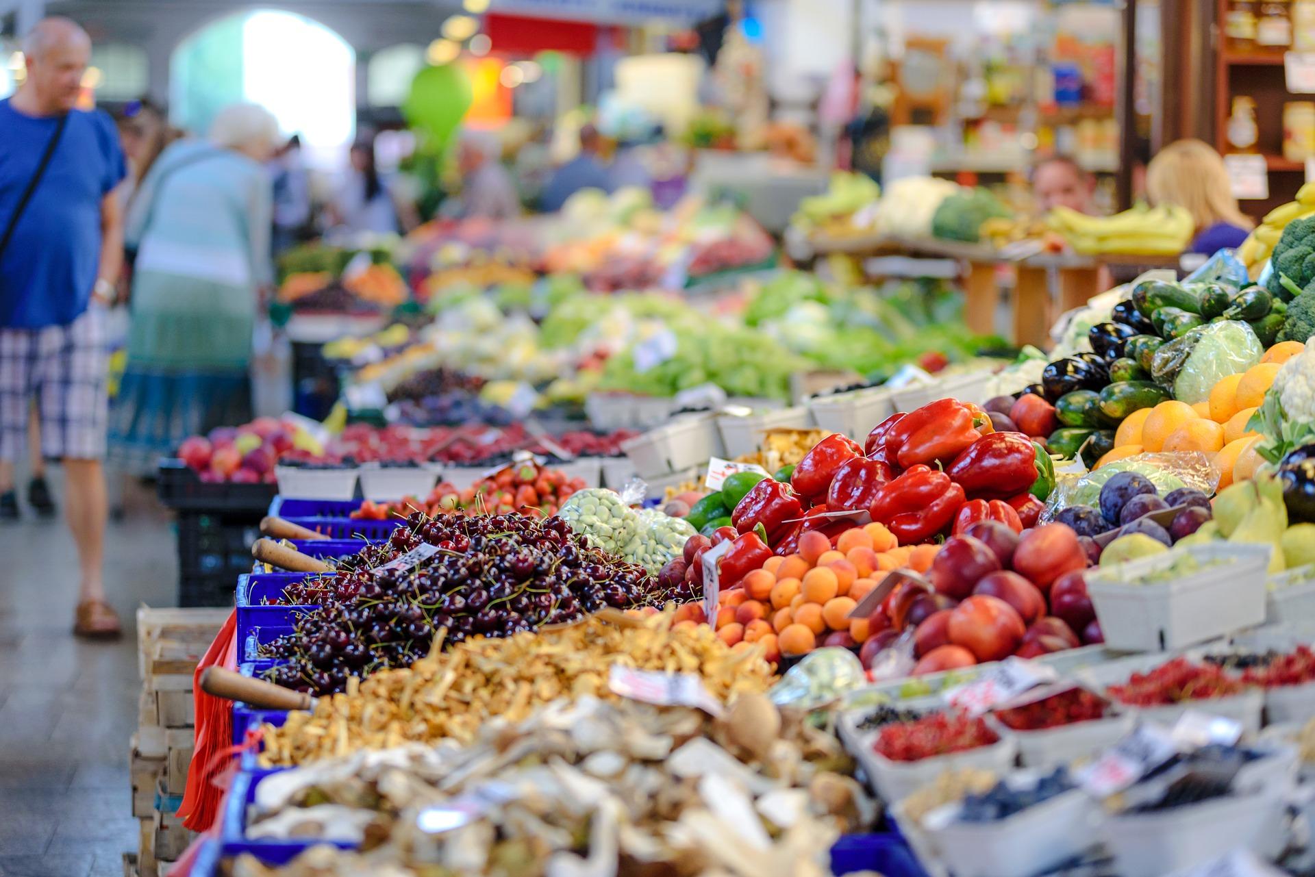 Feria-mercado-Trogir-Croacia