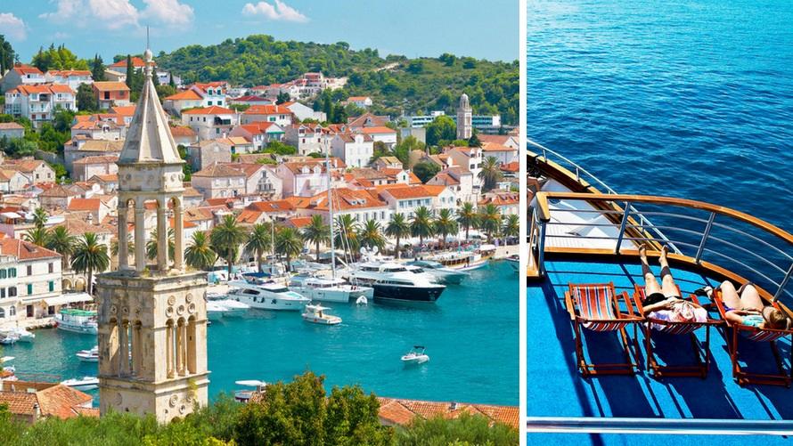 Crucero estándar desde Split (Hvar, Croacia)