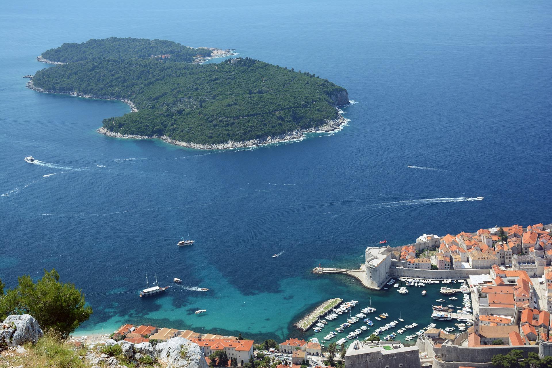 Desde Dubrovnik a Lokrum con Ekorna
