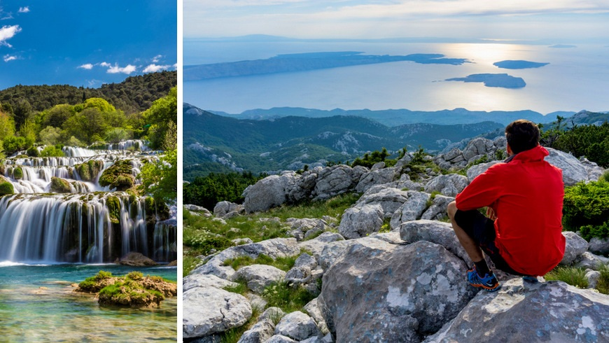 Hiking the National Parks of Croatia - Krka and Velebit