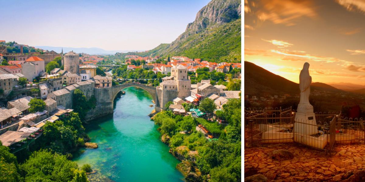 Viaje por los Balcanes-Mostar y Medjugorje