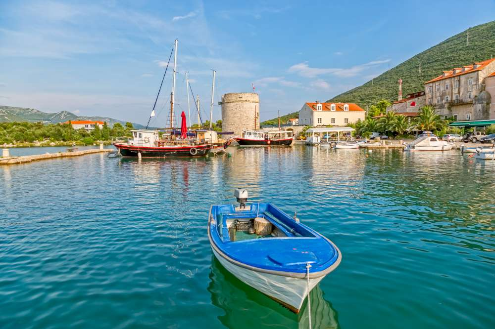 Ston en Peljesac Croacia