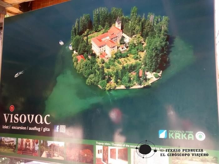Excursion a Visovac