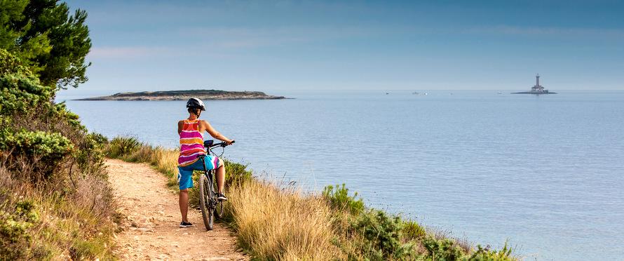 Cycling holidays in Croatia, Slovenia and Italy