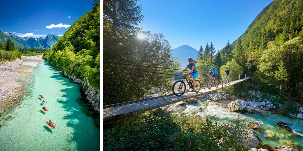 Valle de Soca, Soca, cycling, www.slovenia.info, Tomo Jeseničnik-